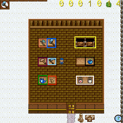 Harvest moon tool shed